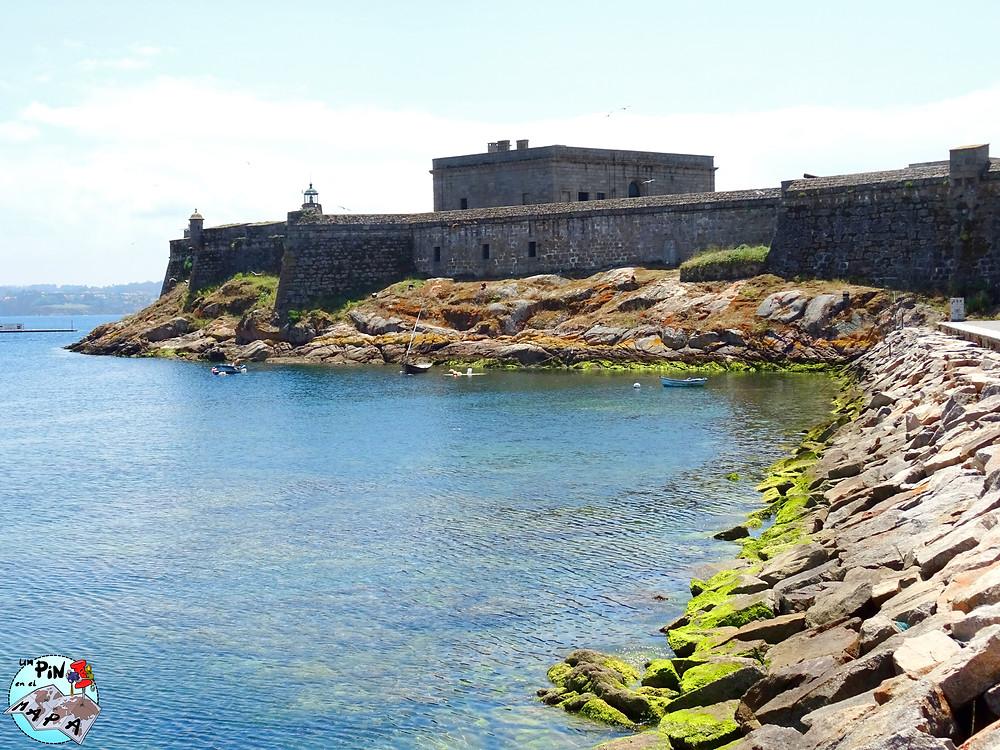 Castillo de San Antón, La Coruña   Un Pin en el Mapa