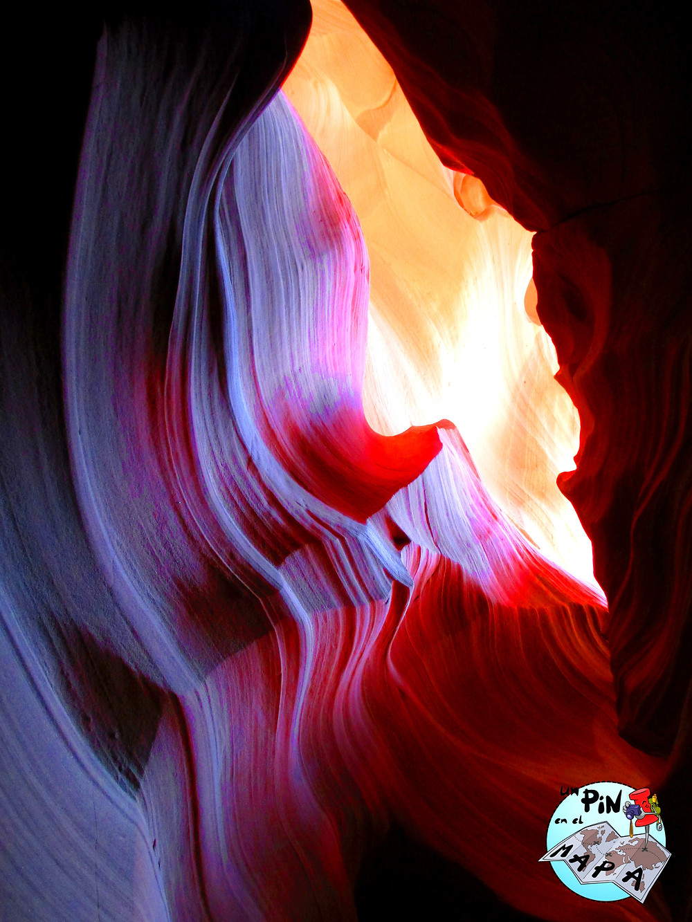 Antelope Canyon | Un Pin en el Mapa