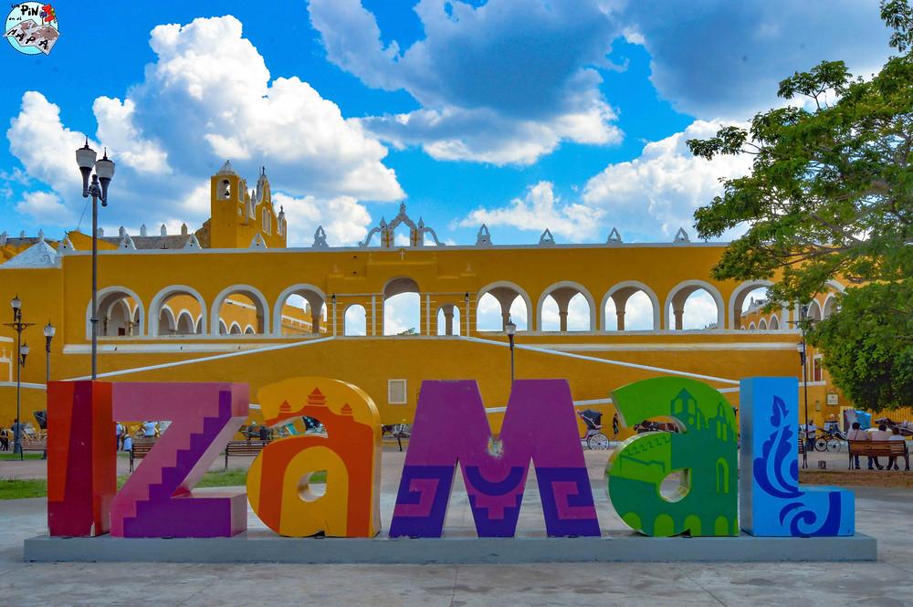 Letras de Izamal, Pueblo Mágico | Un Pin en el Mapa