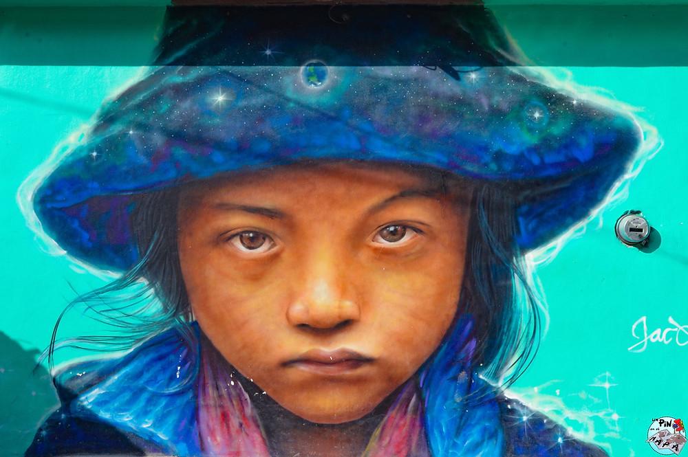Arte callejero en Holbox | Un Pin en el Mapa