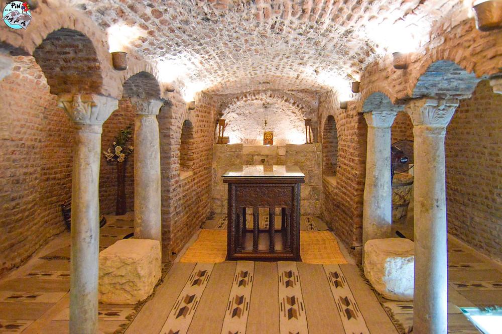 La iglesia de San Sergio y San Baco, Barrio Copto del Cairo | Un Pin en el Mapa