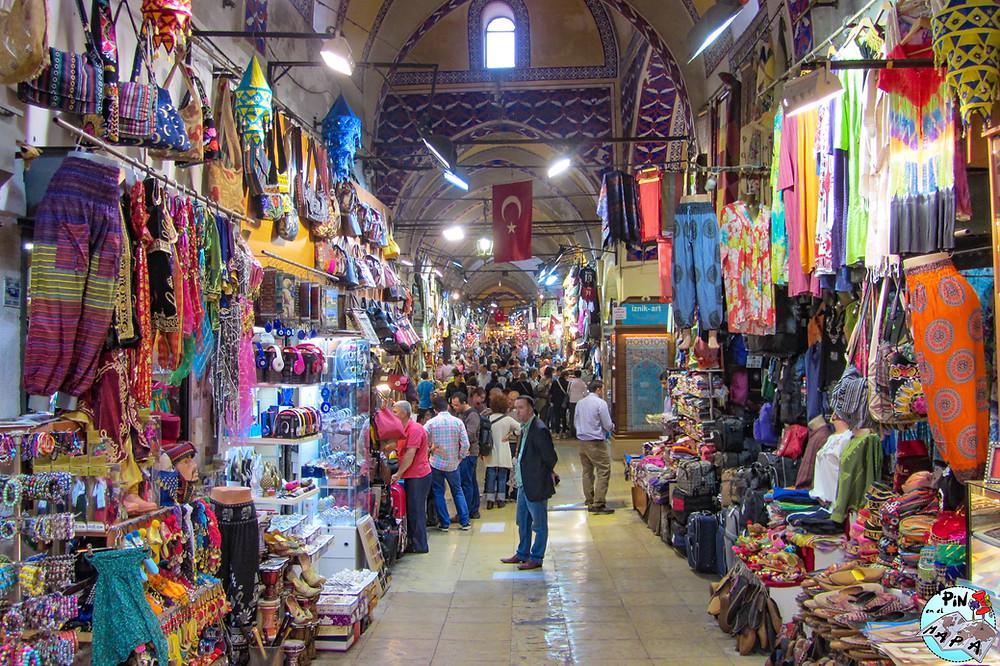 Gran Bazar de Estambul | Un Pin en el Mapa