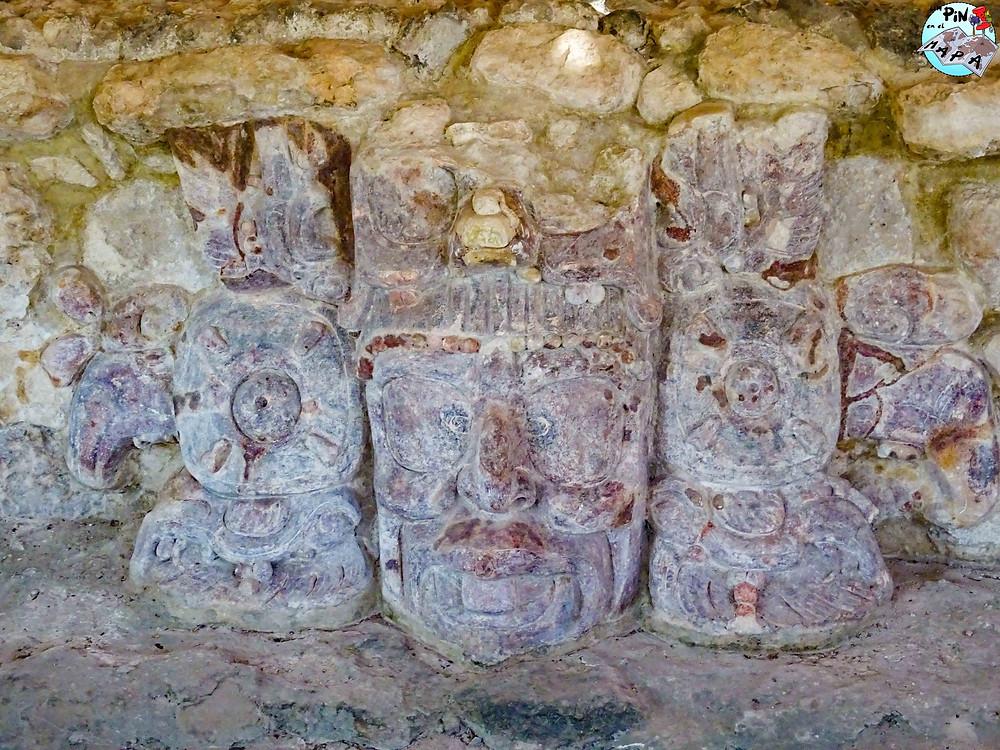 Templo de los Mascarones de Edzná | Un Pin en el Mapa