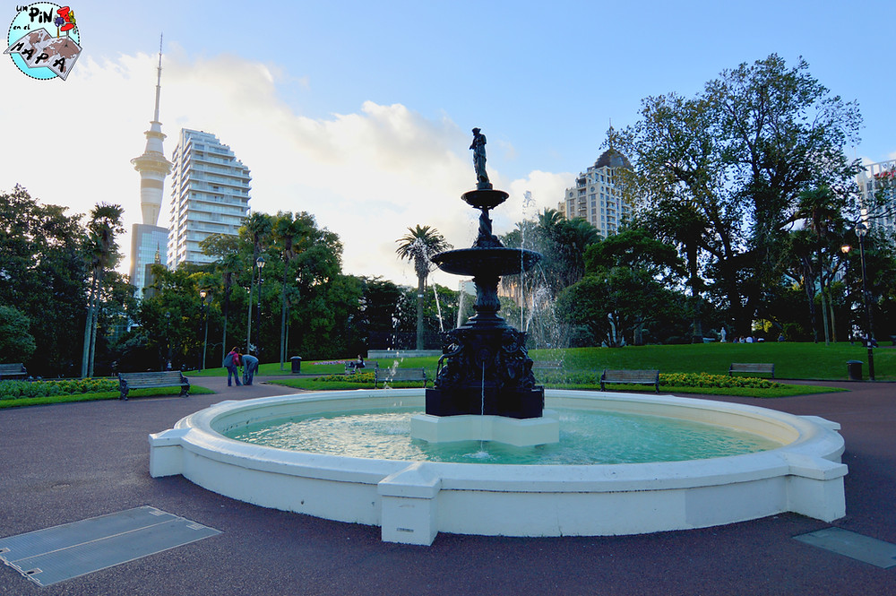 Albert Park, Auckland | Un Pin en el Mapa
