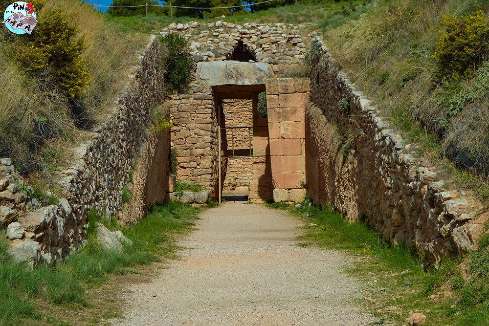Tumba de Aegisthus en Micenas | Un Pin en el Mapa
