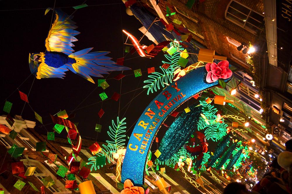 Carnaby Christmas Lights | Un Pin en el Mapa