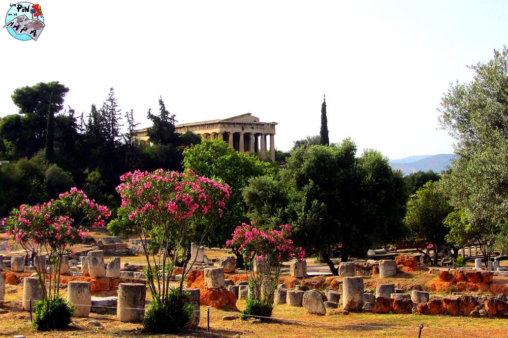 Ágora Antigua, Atenas | Un Pin en el Mapa