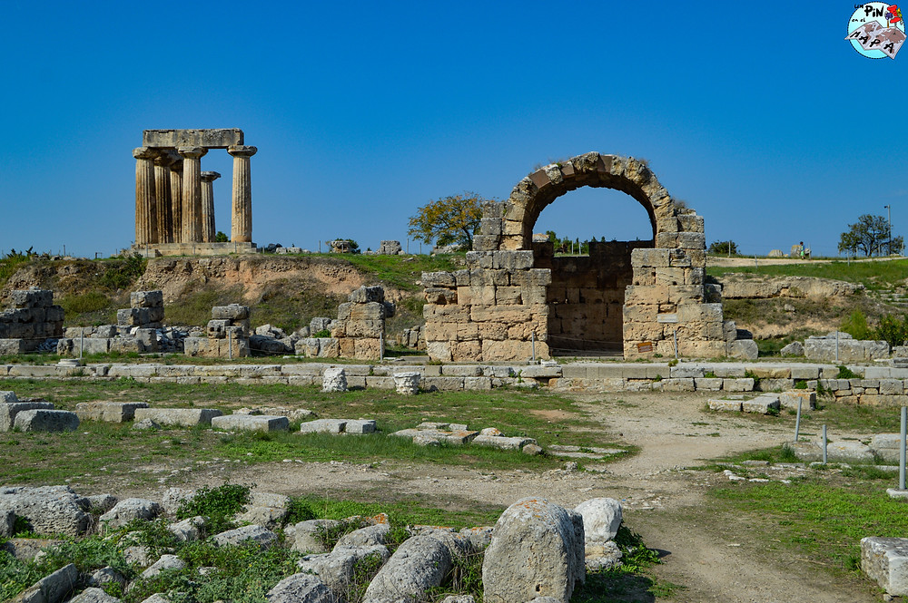 Ágora de Corinto | Un Pin en el Mapa