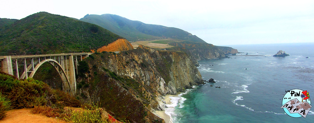 Bixby Bridge y el Big Sur | Un Pin en el Mapa