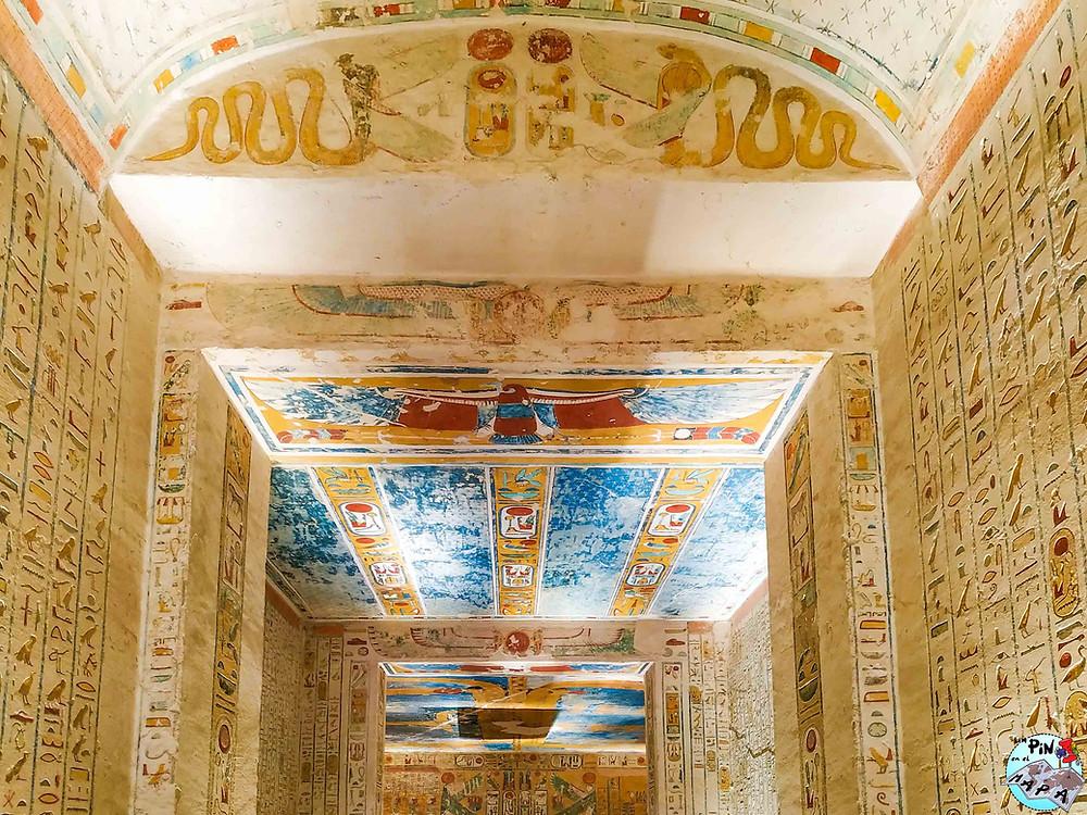 Tumba de Ramsés IV en el Valle de los Reyes | Un Pin en el Mapa