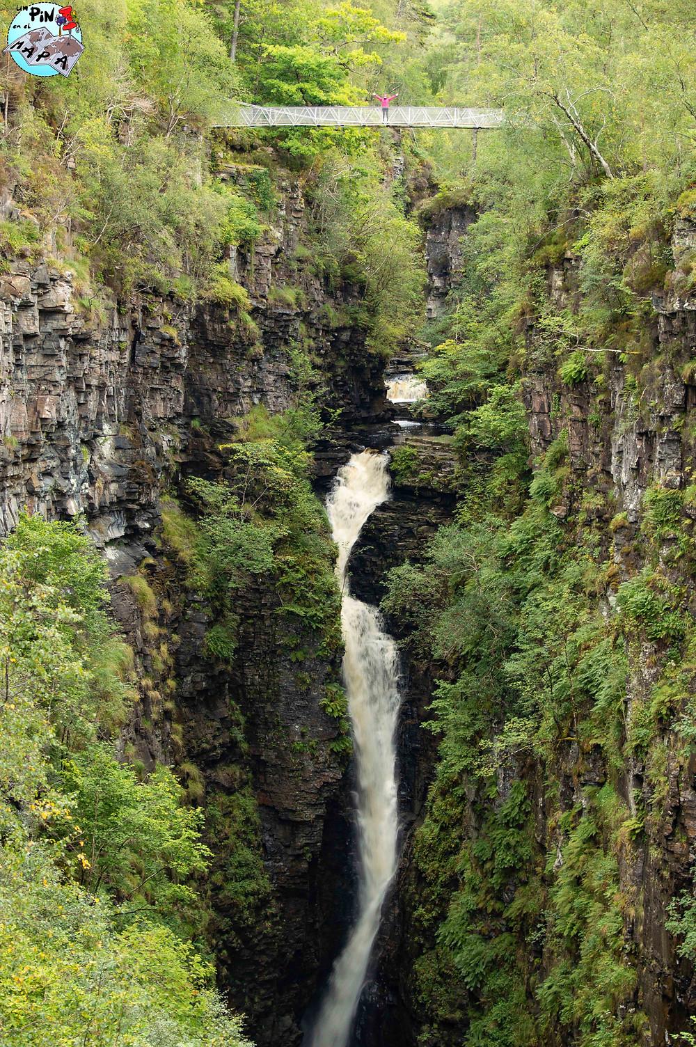 Falls of Measach, Escocia | Un Pin en el Mapa