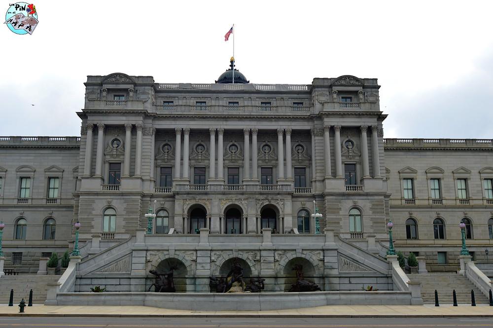 Biblioteca del Congreso Washington DC | Un Pin en el Mapa