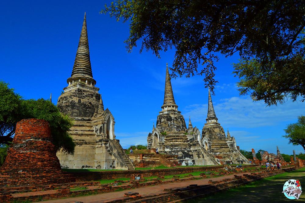 Wat Phra Si Sanphet, Tailandia | Un Pin en el Mapa