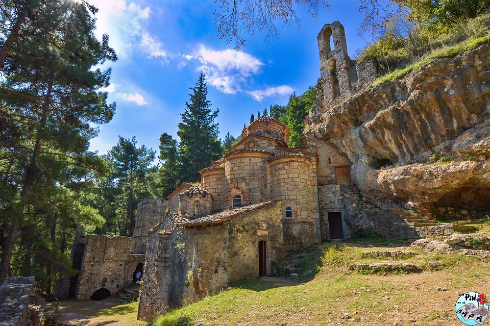 Monasterio de Perivleptos, Mystras | Un Pin en el Mapa