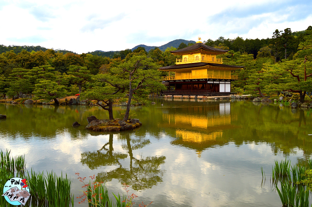 Kinkaku-ji (Templo del Pabellón de Oro), Kioto, Japón | Un Pin en el Mapa