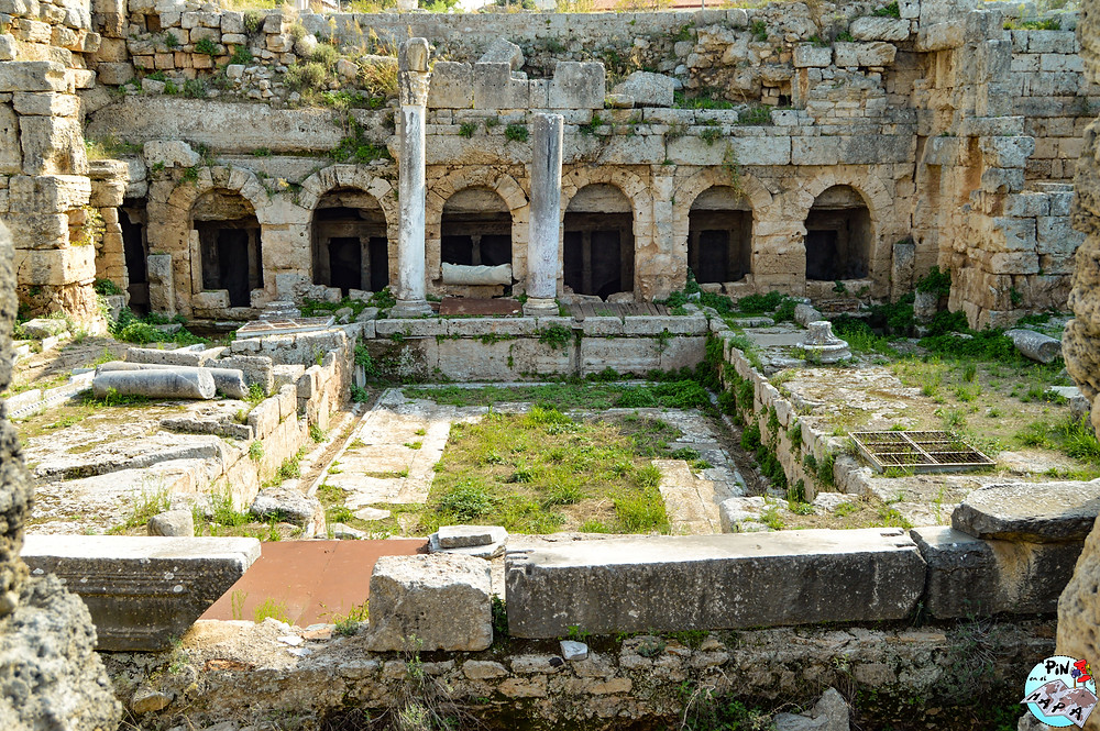 Fuente de Pirene Baja en Corinto | Un Pin en el Mapa