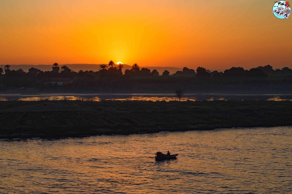 Atardecer en el Nilo | Un Pin en el Mapa