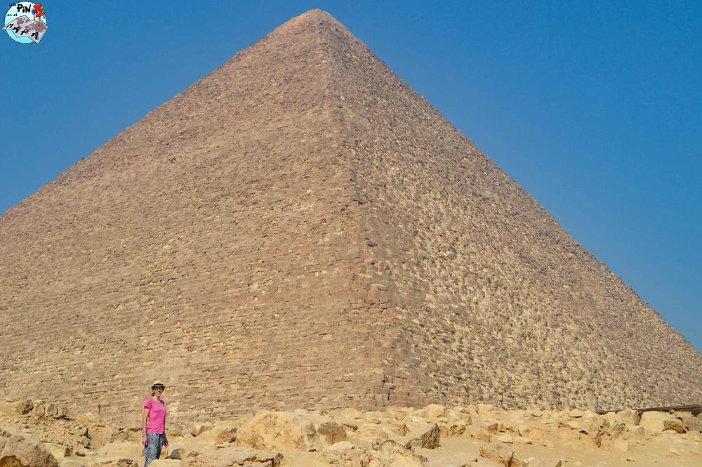 Pirámide de Keops en Giza | Un Pin en el Mapa