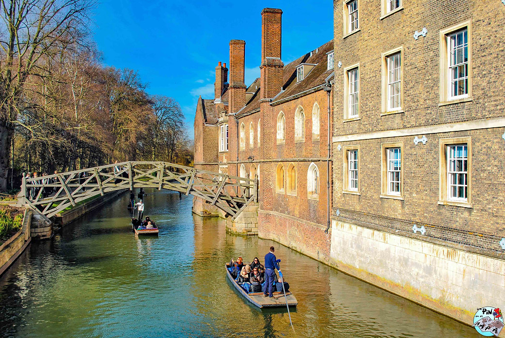 El Puente Matemático de Cambridge | Un Pin en el Mapa
