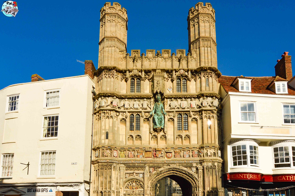 Christchurch Gate, Canterbury | Un Pin en el Mapa