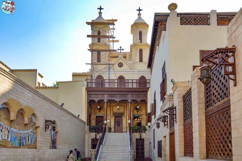 Iglesia Colgante del Barrio Copto | Un Pin en el Mapa