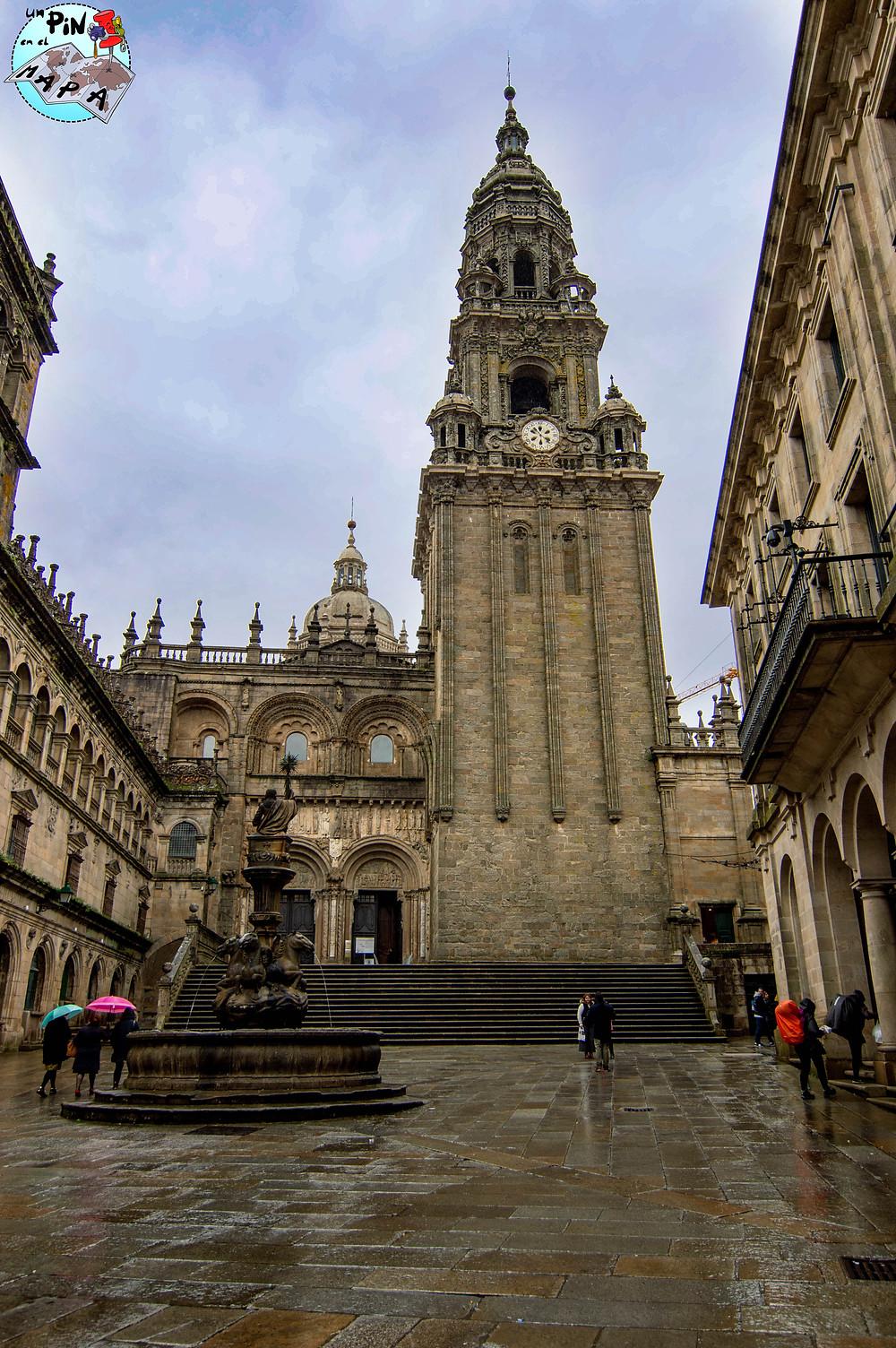 Plaza de Platerías en Santiago de Compostela | Un Pin en el Mapa