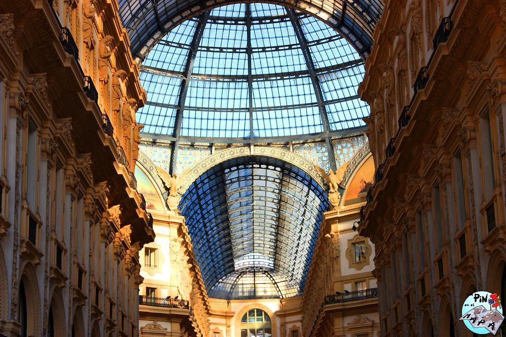 Galleria Vittorio Emanuele II | Un Pin en el Mapa