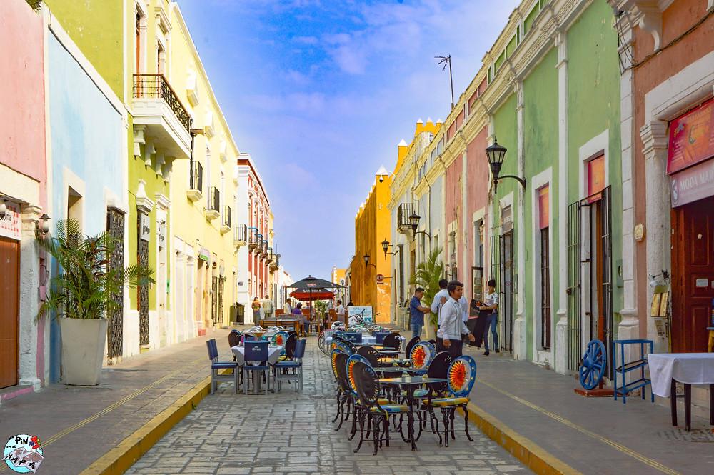 Calle 59, Campeche | Un Pin en el Mapa