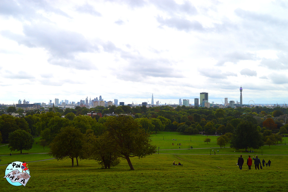 Primrose Hill Londres | Un Pin en el Mapa