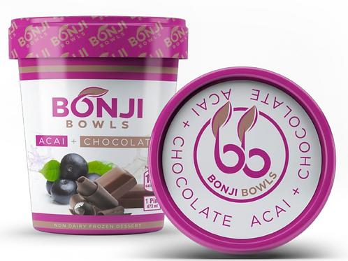 Bonji Acai + Chocolate 4 Pack Pint