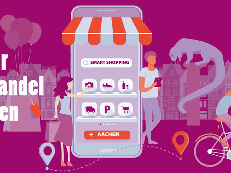 Second digital shopping spree: experience Aachen city centre shops live online