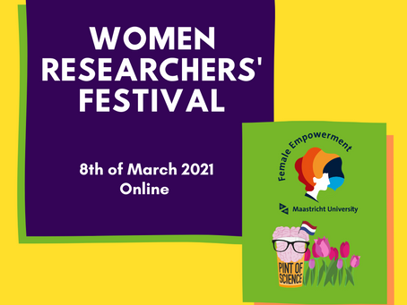 The first ever Women Researchers' Festival Maastricht took place on 8 March 2021