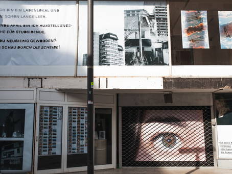 Through the windowpane: 21 Aachen students turn vacant spaces into exhibition venues