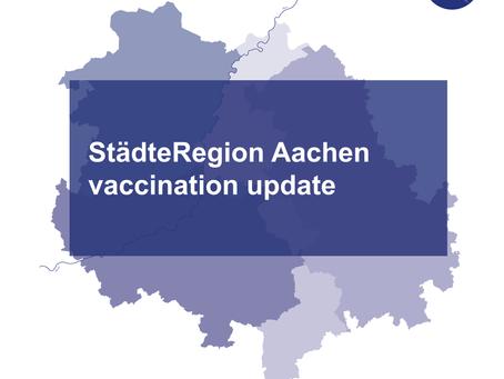 StädteRegion Aachen vaccination update