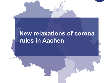 New relaxations of corona rules in Aachen