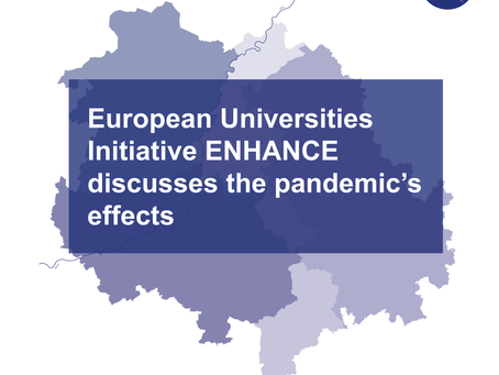 European Universities Initiative ENHANCE discusses the pandemic's effects