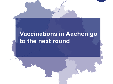 Vaccinations in Aachen go to the next phase