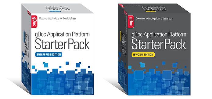gDoc Starter Pack box designs