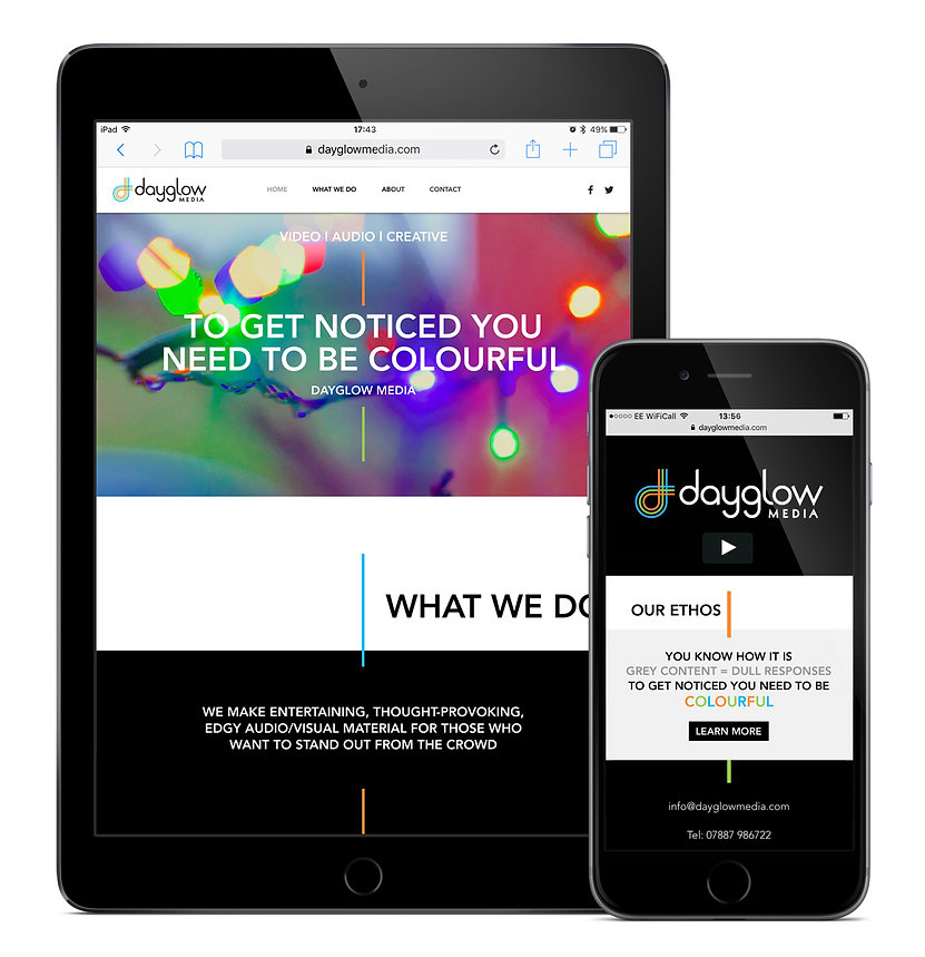 Dayglow Media website