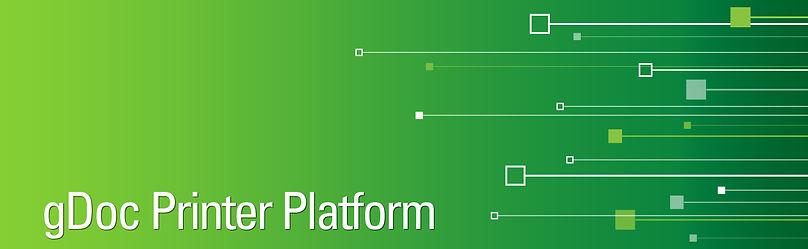 gDoc Printer Platform banner