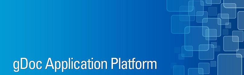 gDoc Appication Platform banner