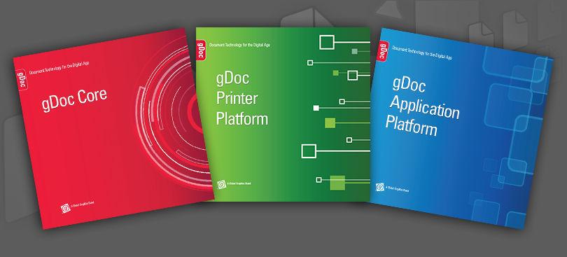 gDoc brochure covers