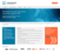 Harlequin Partner Network web design