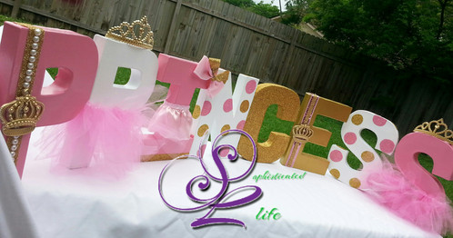 Wonderful Royal Princess Baby Shower Name Letters Are Perfect For Royal Princess  Photoshoots, Royal Princess Wall Decor Or Princess Themed Nursery.