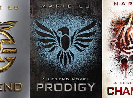 Legend series by Marie Lu- COMPLETE REVIEW