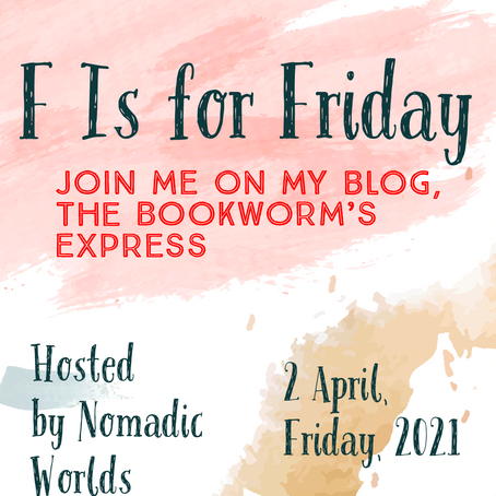 F is for Friday- BOOK TAG