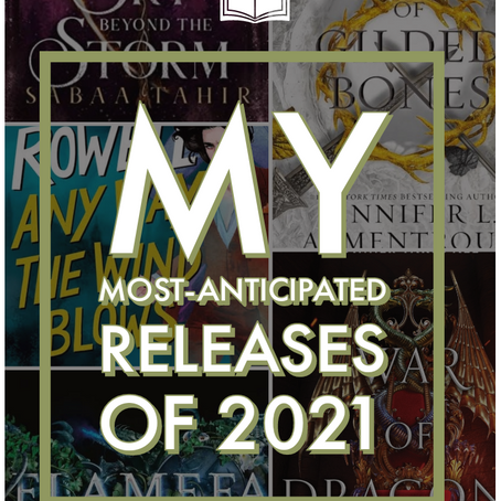 My Most-Anticipated Releases of 2021