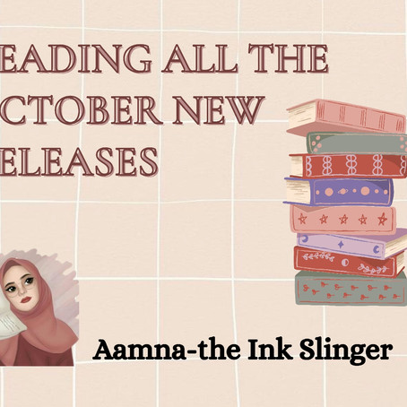 Reading the Newest Releases of October
