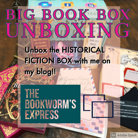 UNBOXING TIME!- November 2020 Big Book Box