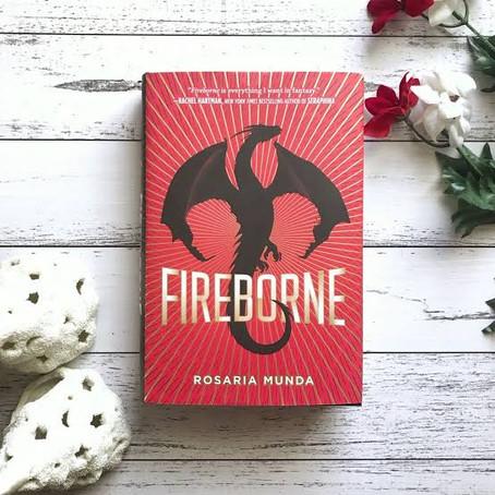 FIREBORNE- Book Review